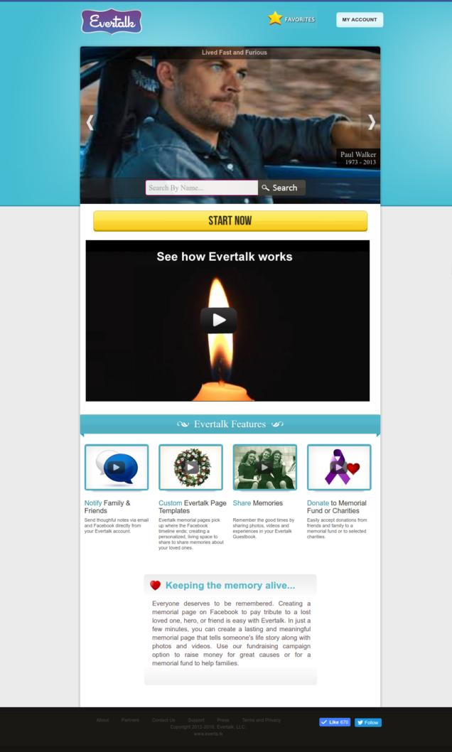 Evertalk Facebook App